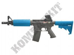 S&T M4A1 CQB Assault Rifle Gas Blowback Airsoft BB Machine Gun Black & 2 Tone Colours